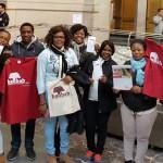 Sprachkurs besucht das Hannoversche Rathaus