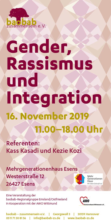 Gender, Rassismus und Integration