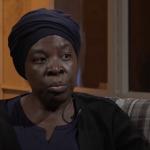 Régine Aniambossou auf dem H1-Sofa