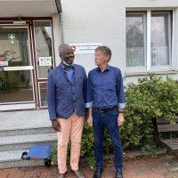 Arbeitsgespräch mit Heinrich Hörnschemeyer